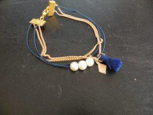 Bracelet à 4 rangs photo