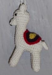 lama au crochet